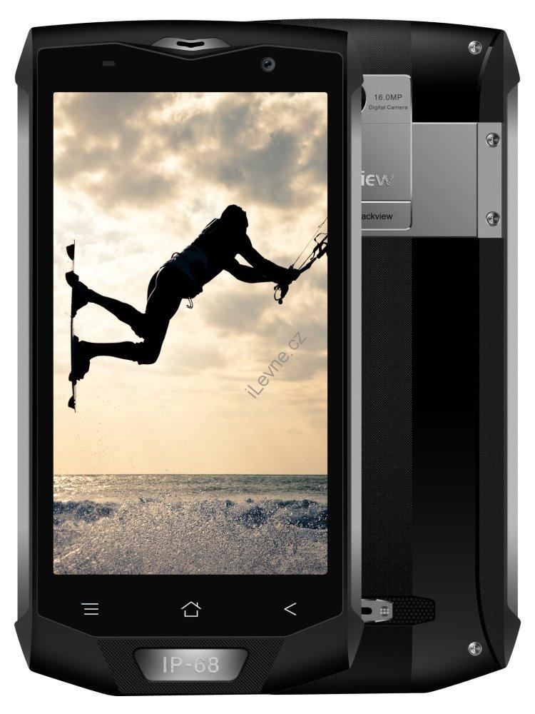 "iGET Blackview GBV8000 Pro - Titan   5"" IPS 1920x1080, OctaCore, Dual SIM, 6GB+64GB,16 MPx+8 MPx, LTE, IP68, Android 7"