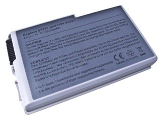 Dell Latitude D500, D600 Series, Li-ion 11,1V 5200mAh