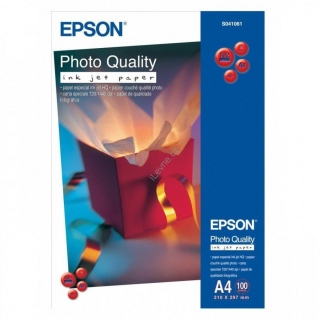 EPSON fotopapír C13S041061/ A4/ Photo Quality Inkjet Paper / 100ks