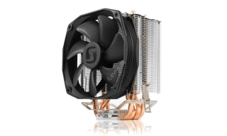 SilentiumPC chladič CPU Spartan 3 PRO HE1024/ ultratichý/ 100mm fan/ 4 heatpipes