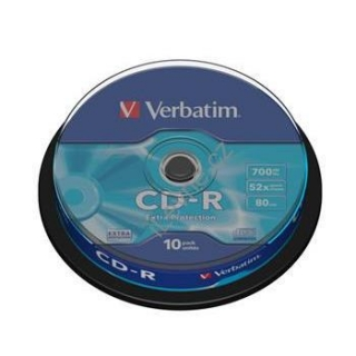 VERBATIM CD-R80 700MB/ 52x/ Extra Protection/ 10pack/ spindle