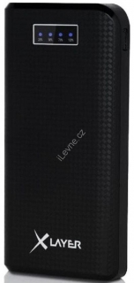 XLayer Powerbank Carbon Black 20000mAh
