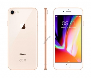 "Apple iPhone 8 256GB Gold   4,7"" Retina/ LTE/ Wifi AC/ NFC/ IP67/ iOS 11"