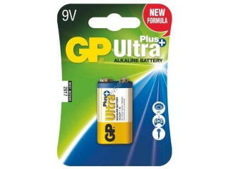 GP alkalická baterie 9V (6LF22) Ultra Plus 1ks blistr