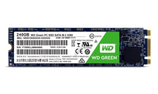 WD SSD GREEN 240GB, WDS240G1G0B