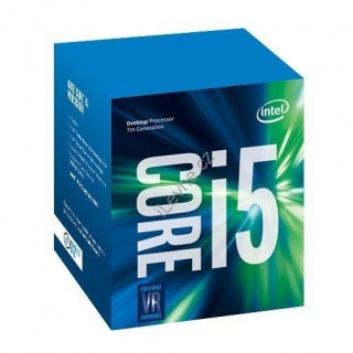 INTEL Core i5-7400 / Kaby Lake / LGA1151 / max. 3,5GHz / 4C/4T / 6MB / 65W TDP / BOX
