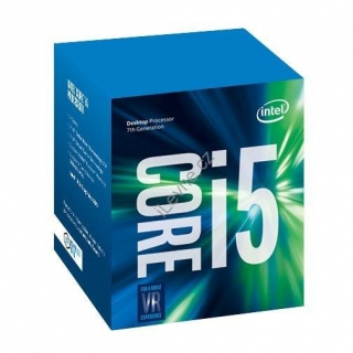 INTEL Core i5-7500 / Kaby Lake / LGA1151 / max. 3,8GHz / 4C/4T / 6MB / 65W TDP / BOX