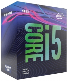 INTEL Core i5-9400F / Coffee-Lake R / LGA1151 / max. 4,1GHz / 6C/6T / 9MB / 65W TDP / bez int. VGA  / BOX