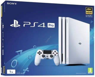 PS4 Pro - Playstation 4 Pro 1TB White/ Gamma chassi