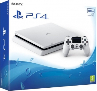 PS4 - Playstation 4 500GB White/ F chassis