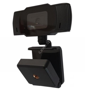 "UMAX webkamera Webcam W5/ 5MP HD 2592x1944/ 1/4"" CMOS/ mikrofon/ držák/ Plug and Play/ Autofocus/ USB 2.0/ 1,5 m/ černá"